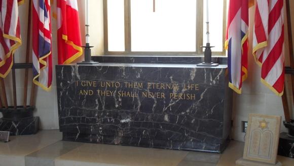 chapelle cimetière américain