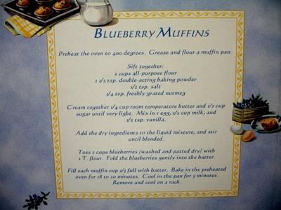 recipe muffins